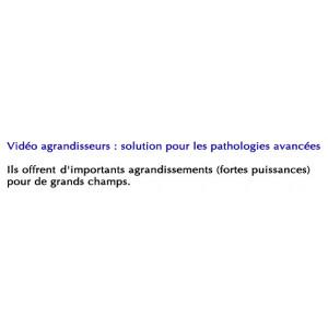 Video Agrandisseur