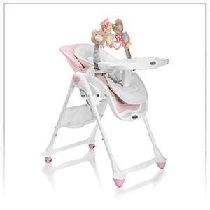 Chaise haute pvc
